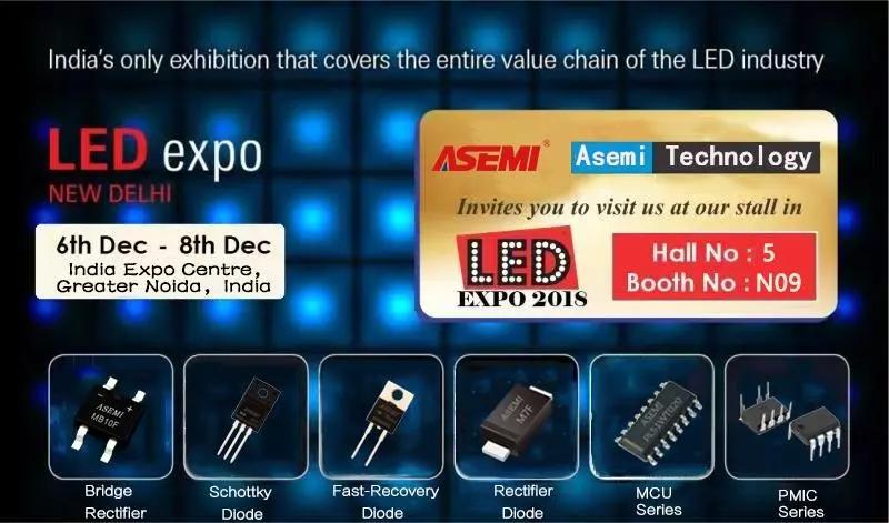 2018 LED EXPO圆满落幕,感谢国外客户一直以来对ASEMI的认可与支持!