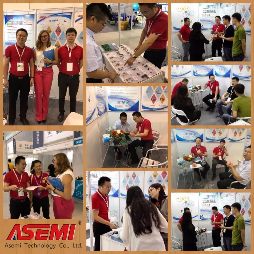 蓉城盛会,ASEMI品牌亮相2018中国(成都)电子信息博览会!