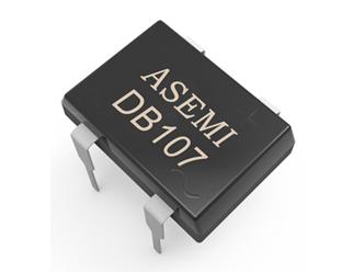 DB107/DB106/DB105/DB104,ASEMI整流桥,参数一致量产良率高,适配充电器、LED适配器等品,DB107