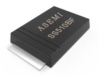 【SS510-SMBF】SS510BF,SS515BF,SS520BF,SS58/56BF,SS54BF,ASEMI肖特基二极管