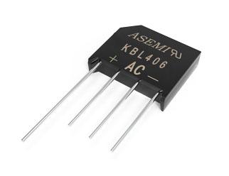 KBL406,ASEMI整流桥,内置4颗84MIL超标准芯片重新定义行业标准,适配高端电源、电脑适配器等高品质产品 KBL406
