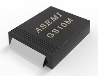 [GS10M-SMC] GS10MC/GS10DC/GS10GC/GS10JC/GS10KC ASEMI贴片整流二极管
