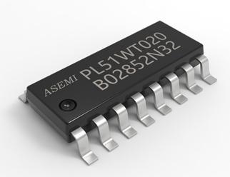 PL51WT020-S16/B24,ADC型/低功耗高性能2.4G RF收发SOC芯片,银行级安全加密MCU,PL51WT020