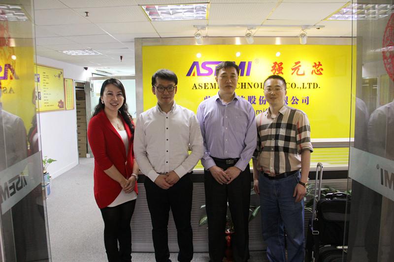 Korea's ODT company visited ASEMI